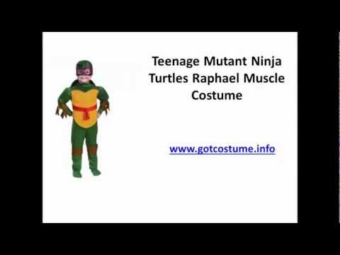 Teenage Mutant Ninja Turtles Raphael Muscle Costume Review