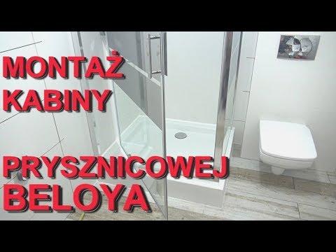 Montaż kabiny prysznicowej BELOYA