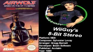 Airwolf (NES) Soundtrack - Stereo