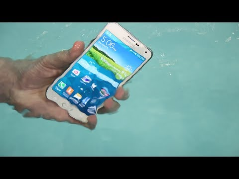 Ultimate Samsung Galaxy S5 Water Test!