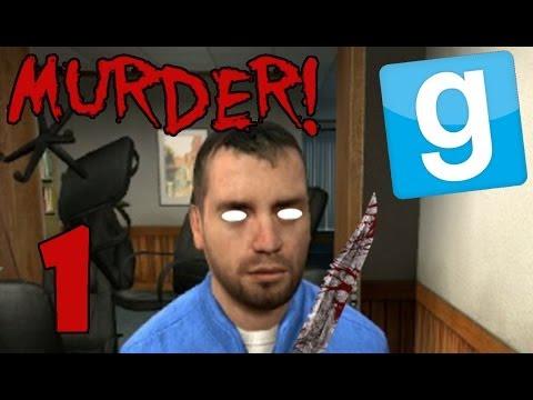 MURDER Garrys Mod Game Mode (1) *KILL EVERYONE!* w Friends