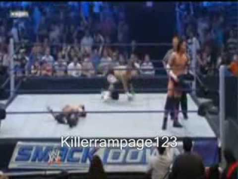 wwe cm punk vs edge smackdown 5/01/09 part 2 Video