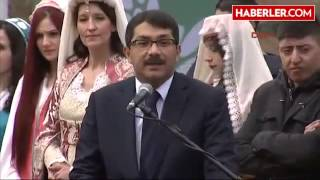 Manisa'da Mesir Karma Töreni