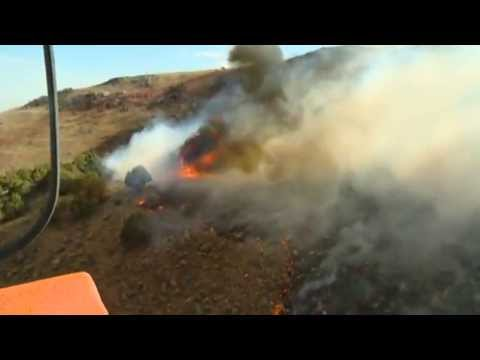 Utah Army National Guard battles wildfires
