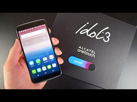 Alcatel OneTouch Idol 3: Unboxing & Review