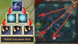 Infinite GLOBAL Concussive Shot + Tinker Missile [Ability Draft Rearm Abuse] Dota 2