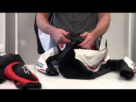 Alpinestars Motegi Two Piece Leather Race Suit Video Review from SportbikeTrackGear.com
