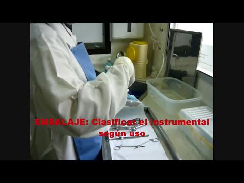 Manejo de Instrumental, Desinfección y Esterilización