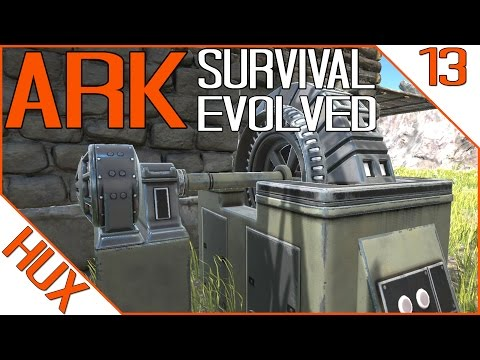 ARK Survival Evolved Gameplay - GENERATOR | MINING HELMET
