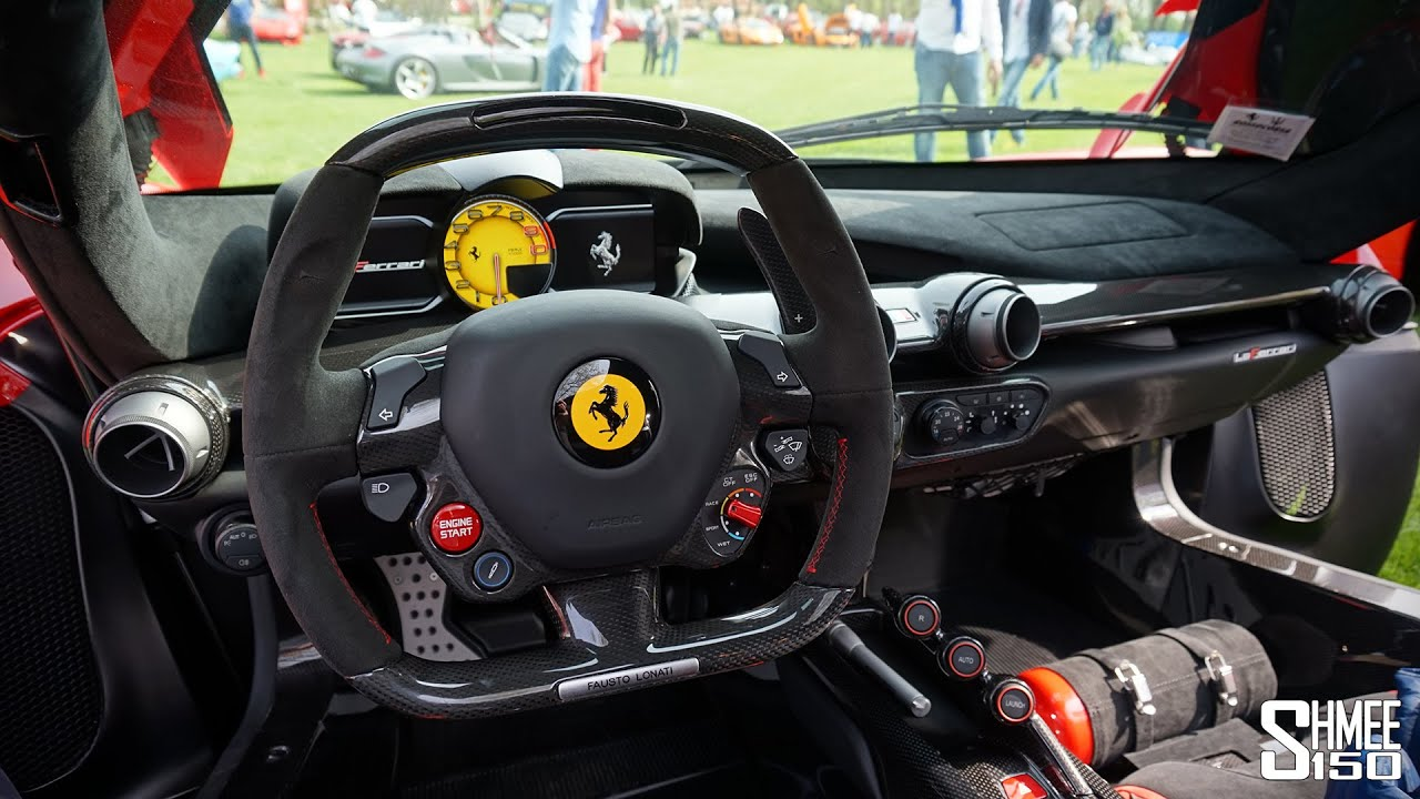 Inside the LaFerrari   Full Interior Tour   YouTube