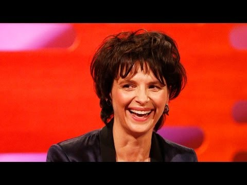 RICKY GERVAIS & JULIETTE BINOCHE Translate Jokes Into English - The Graham Norton Show BBC America