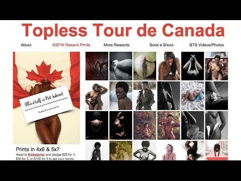 Naturist Living Show Episode Lxv - Topless Tour Of Canada video
