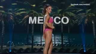 Josselyn Garciglia Miss Mexico in the Miss Universe Preliminary Competition 2014.