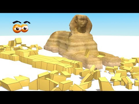 CUBE BUILDER for KIDS (HD) - Build Sphinx for Children - AApV