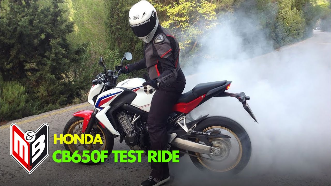 HONDA CB 650 F Test-ride - YouTube