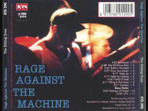 RATM - Bullet in the head, Live in StockHolm, Sweden