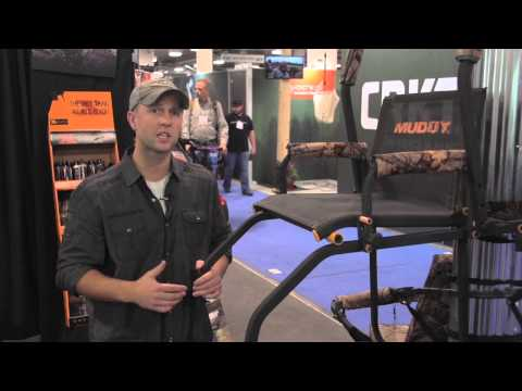 Muddy Skybox Ladder Stand - SHOT Show 2015