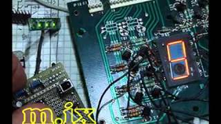 Nixie single clock Progect panaplex.wmv