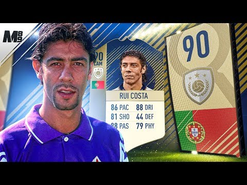 FIFA 18 ICON RUI COSTA REVIEW | 90 PRIME ICON RUI COSTA PLAYER REVIEW | FIFA 18 ULTIMATE TEAM