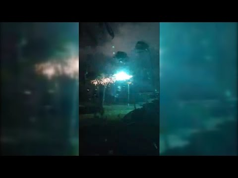 Power line 'explosion' in Waialua