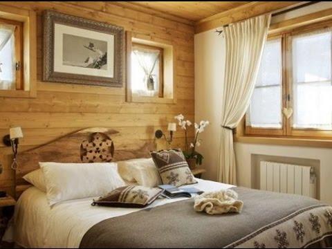 Спальни в стиле Шале (дизайн интерьера)