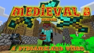 Medieval Modpack Ep 3 The Exploding Base Troll Setup!!!!!