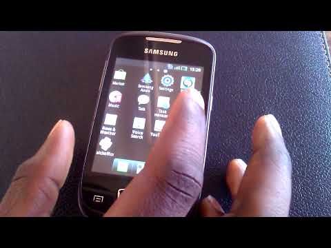 hadware tour and boot up time of samsung galaxy mini.mp4