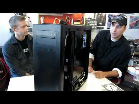 LIAN LI PC-A75 FULL TOWER CASE REVIEW & 280 Radiator Fitting.