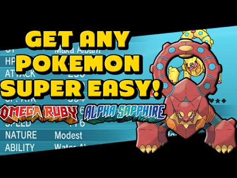 How to Get Any Pokemon With QR Codes! - Omega Ruby And Alpha Sapphire