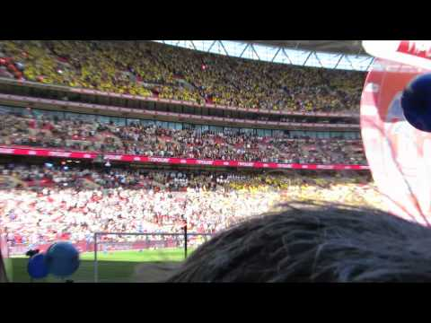 Crystal Palace Vs Watford Playoff Final Wembley Stadium 27-5-13.