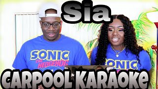 Sia Carpool Karaoke | Couple Reacts