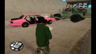 Psycho Dad Bulldozes Pink Car