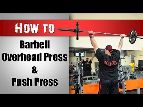 How to Overhead Press: Strict vs. Push Press Technique Image 1