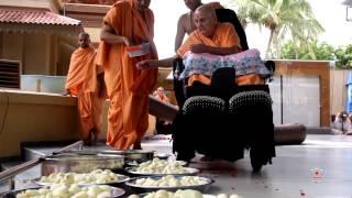 Guruhari Darshan 14 Sep 2014, Sarangpur, India