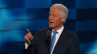 Bill Clinton: Hillary the real one, the other is not