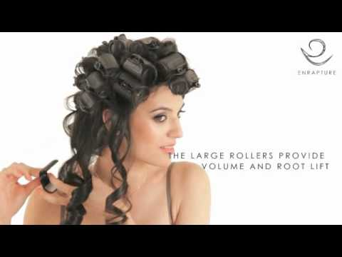How to create Long Curls with the Enrapture Extremity Rollers