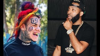 6ix9ine says J Prince Jr is chasing clout by publicizing him not being able to get in a club.