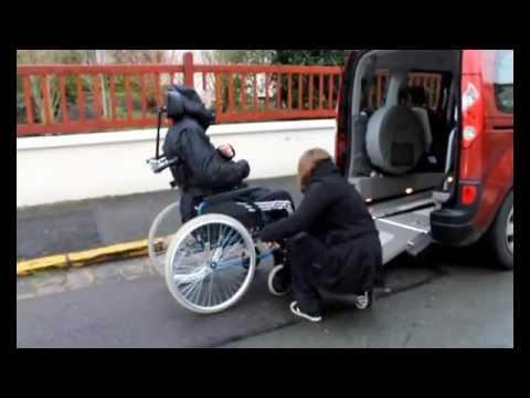 Chaise roulante pour escalier