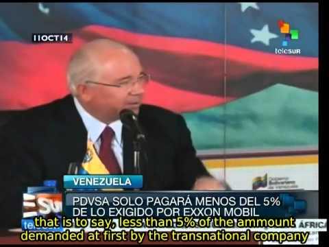 Venezuela celebrates victory over Exxon Mobil