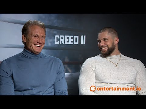 Dolph Lundgren and Florian Munteanu struggled to learn Russian for Creed II