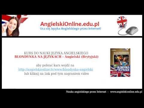 BLONDYNKA NA JĘZYKACH - Angielski (Brytyjski) - Beata Pawlikowska (Kurs Audio Mp3)