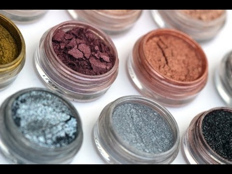 NEW Makeup Geek Pigments including MAC dupes!!