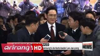 download Independent counsel questioning Samsung heir apparent over corruption allegations Video