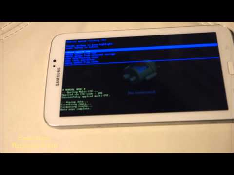 Samsung Galaxy Tab 3 Hard Reset   Recovery Mode   Factory Setting   Original Setting