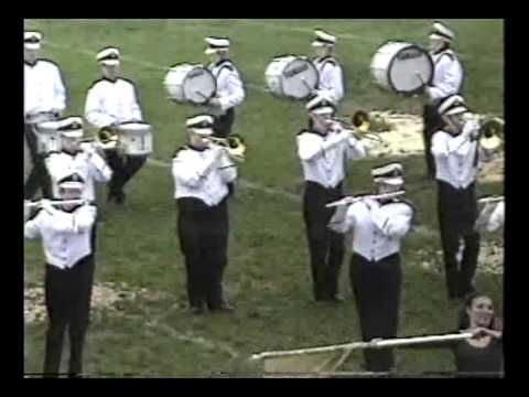 2002 Urbana High School Tiger Marching Band at Oblong - The Classics