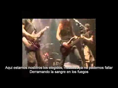 Dragonforce - Fury Of The Storm (subtitulos Español)(live) video