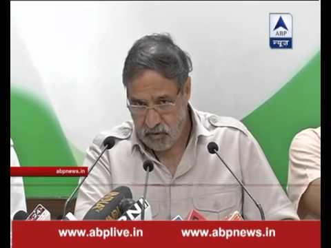 Anand Sharma reads out CAG report over Panama paper leak while addressing media