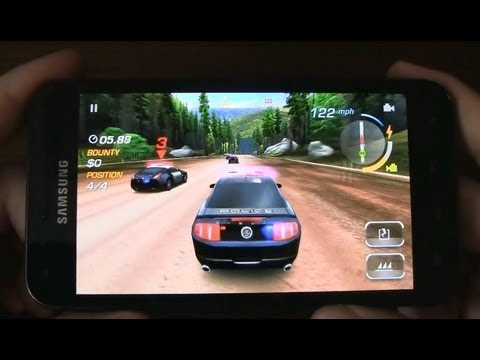 Need for Speed Hot Pursuit for Android - Review (Samsung Galaxy S II - Sprint)