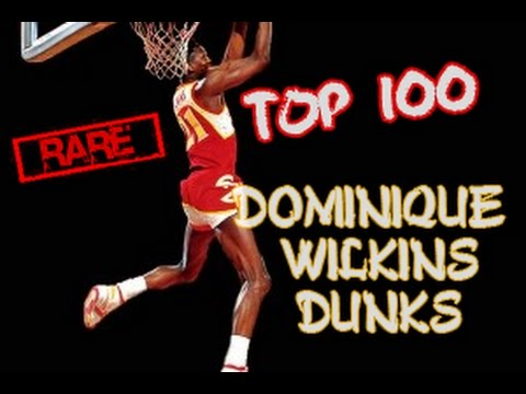 Top 100 Dominique Wilkins Dunks