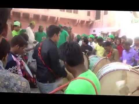 Dhol Tasha Matam Bagh Meer Ji-Jaipur Muharram 2015